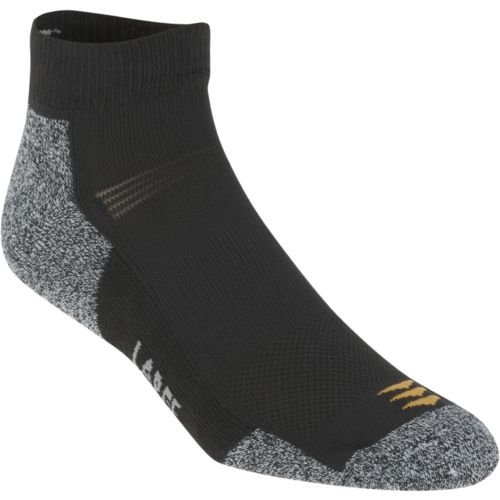PowerSox Men's Power-Lites Low-Cut Socks 3-Pair