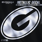 Stockdale University of Georgia Metallic Decal