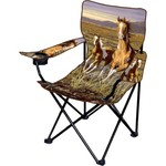 Innovent Brands Wildlife Artists' Running Pintos Camp Chair