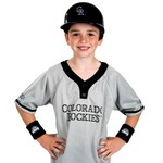 Franklin Kids' Colorado Rockies Uniform Set - view number 2