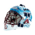 Franklin NHL Team Series Colorado Avalanche Mini Goalie Mask - view number 1