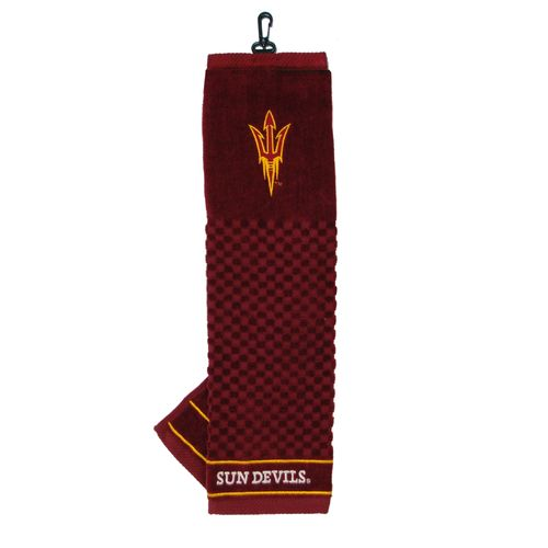 Team Golf Arizona State University Embroidered Towel