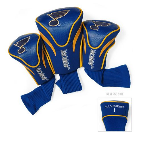 Team Golf St. Louis Blues Contour Sock Head Covers 3-Pack - view number 1