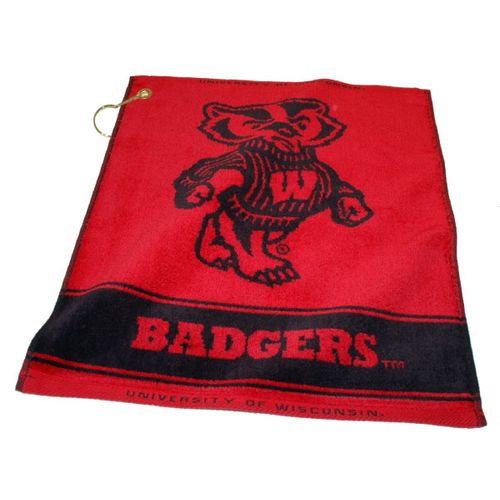 Team Golf University of Wisconsin Woven Towel