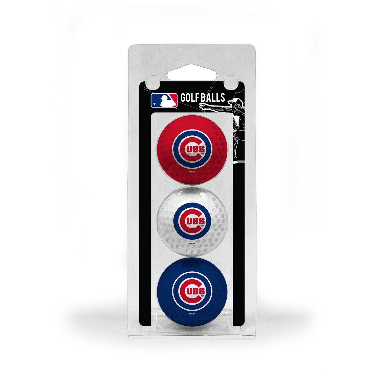 Team Golf Chicago Cubs Golf Balls 3-Pack