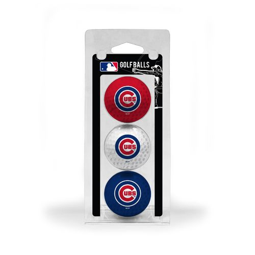 Team Golf Chicago Cubs Golf Balls 3-Pack