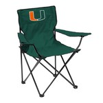 Logo University of Miami Quad Chair