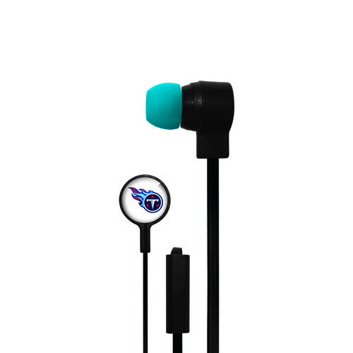 Mizco Tennessee Titans Big Logo Earbuds