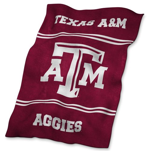 Logo Texas A&M University Ultrasoft Blanket