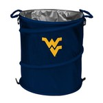 Logo™ West Virginia University Collapsible 3-in-1 Cooler/Hamper/Wastebasket - view number 1