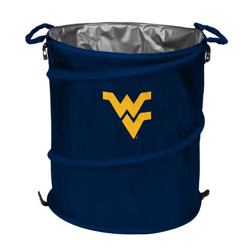 Logo™ West Virginia University Collapsible 3-in-1 Cooler/Hamper/Wastebasket
