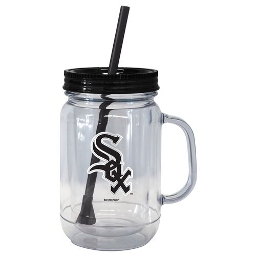 Boelter Brands Chicago White Sox 20 oz. Handled Straw Tumblers 2-Pack