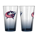 Boelter Brands Columbus Blue Jackets Elite 16 oz. Pint Glasses 2-Pack