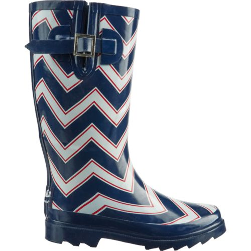 Display product reviews for Austin Trading Co.™ Women's Chevron Americana Rubber Boots