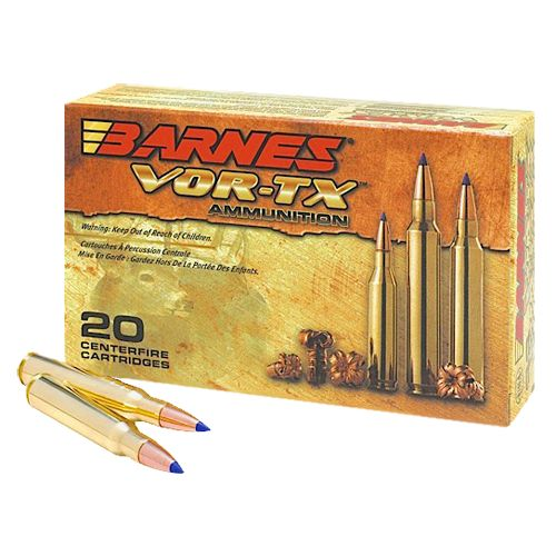 BARNES® VOR-TX® Safari Centerfire Rifle Rounds