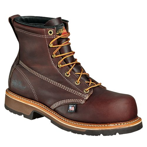 "Thorogood Shoes Men's American Heritage 6"" Emperor Composite Safety Toe Work Boots"
