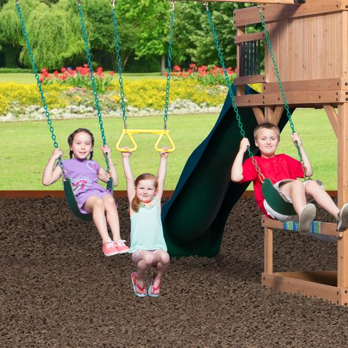 Backyard Discovery™ Oceanview Wooden Swing Set - view number 11