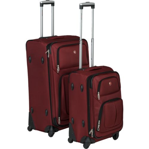 Display product reviews for SwissGear 2-Piece Luggage Set