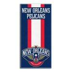 The Northwest Company New Orleans Pelicans Zone Read Beach Towel