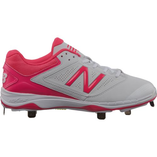New Balance Women's 404v1 Low-Cut Metal Fast-Pitch Softball Cleats