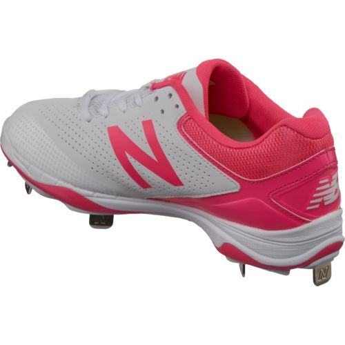New Balance Women's 4040v1 Low-Cut Metal Fast-Pitch Softball Cleats - view number 3