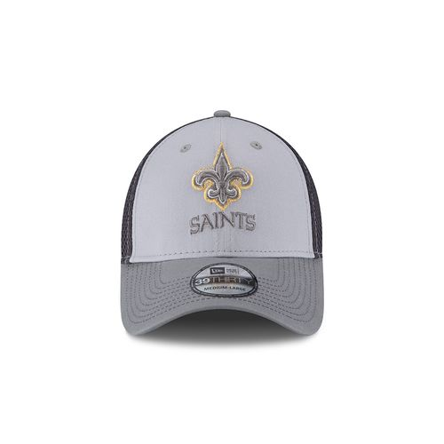 New Era Men's New Orleans Saints Grayed Out Neo 39THIRTY Cap - view number 4