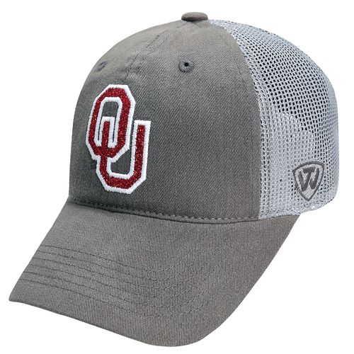 Top of the World Women's University of Oklahoma Charisma 2-Tone Adjustable Cap