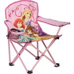 Exxel Outdoors Kids' Disney Princess Folding Armchair