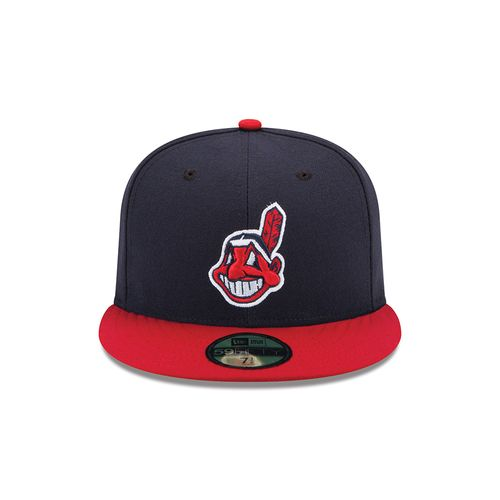 New Era Men's Cleveland Indians AC Perf 59FIFTY Cap - view number 4