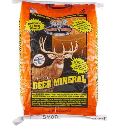 Antler King Trophy Deer Mineral Feed 20 lb. Bag