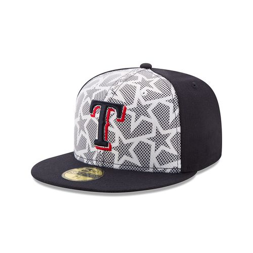 New Era Men's Texas Rangers 4th of July 59FIFTY Cap