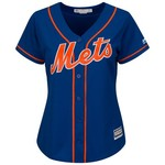 Majestic Women's New York Mets Cool Base® Replica Home Jersey - view number 1