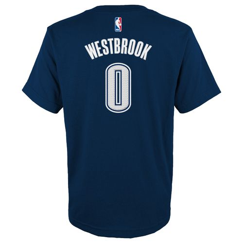 adidas™ Boys' Oklahoma City Thunder Russell Westbrook #0 High Definition T-shirt