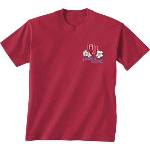 New World Graphics Women's University of Oklahoma Bright Plaid T-shirt - view number 2