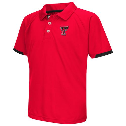 Colosseum Athletics™ Boys' Texas Tech University Spiral Polo Shirt