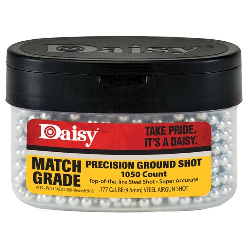 Daisy® 515 Ground Shot .177 (4.5mm) Caliber Match Grade BBs