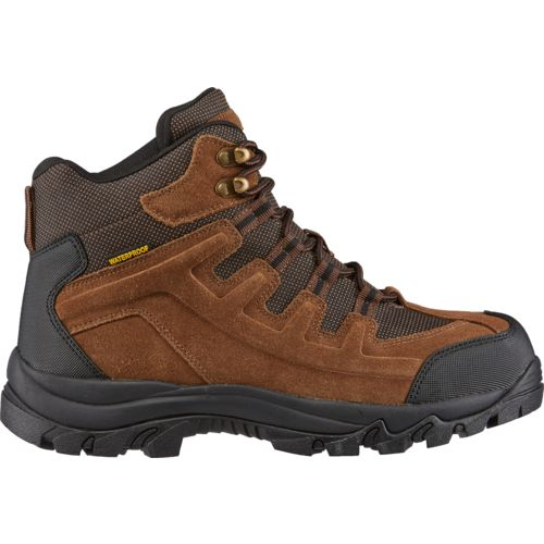 Display product reviews for Brazos Men's Iron Force Steel-Toe Hiker II Work Boots