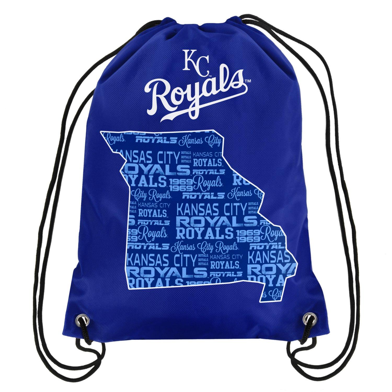 Forever Collectibles™ Kansas City Royals Drawstring Backpack