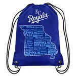 Forever Collectibles™ Kansas City Royals Drawstring Backpack