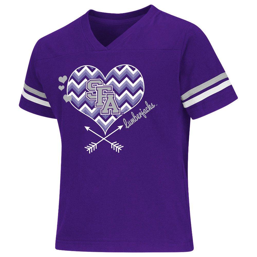 Colosseum Athletics Girls' Stephen F. Austin State University Football Fan T-shirt