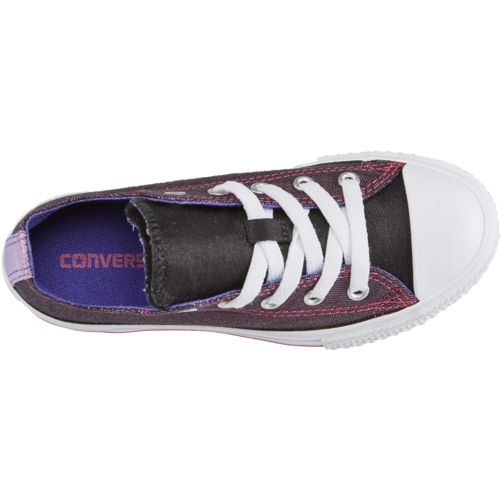 Converse Girls' Chuck Taylor All Star Double Tongue Shoes - view number 4