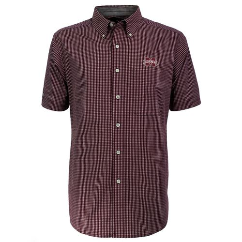 Antigua Men's Mississippi State University League Dress Shirt