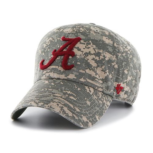 '47 University of Alabama Officer Camo Clean-Up Cap