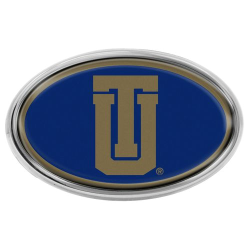 Stockdale Chrome Auto Emblem with Domed Insert