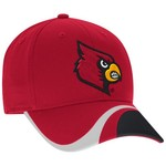 adidas™ Men's University of Louisville Cut-N-Sew Structured Flex Cap