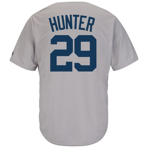 Majestic Men's New York Yankees Catfish Hunter #29 Cool Base Cooperstown Jersey - view number 1