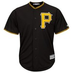 Majestic Men's Pittsburgh Pirates Jordy Mercer #10 Cool Base Replica Jersey - view number 3