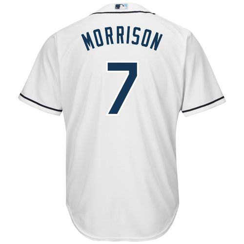 Majestic Men's Tampa Bay Rays Logan Morrison #7 Cool Base Replica Jersey - view number 2