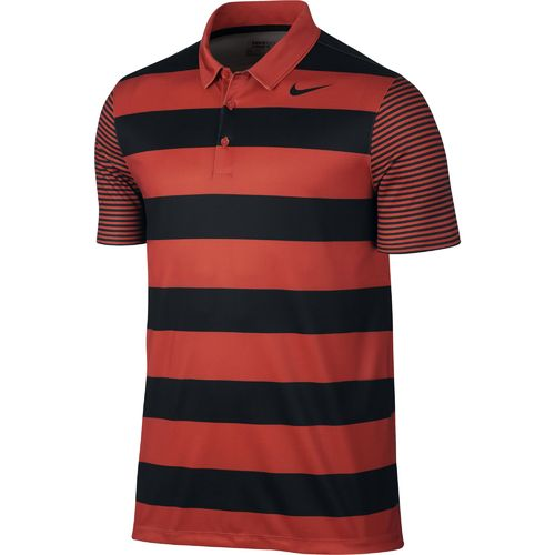 Nike Men's Breathe Bold Stripe Polo Shirt