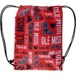 Forever Collectibles™ Women's University of Mississippi Drawstring Backpack